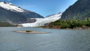 Mendenhall Glacier outside of Juneau, AK! WOW!