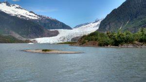 Mendenhall Glacier outside of Juneau, AK! WOW!