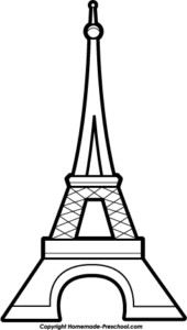 eiffel-tower-gray-bw