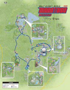 WDW Marathon Course