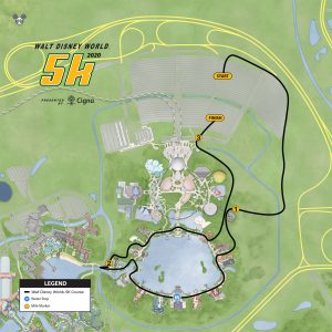 WDW 5K course