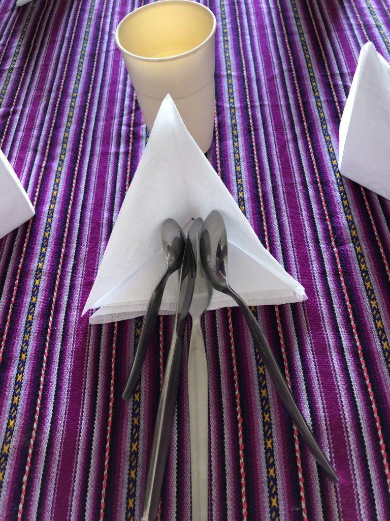 napkin folded