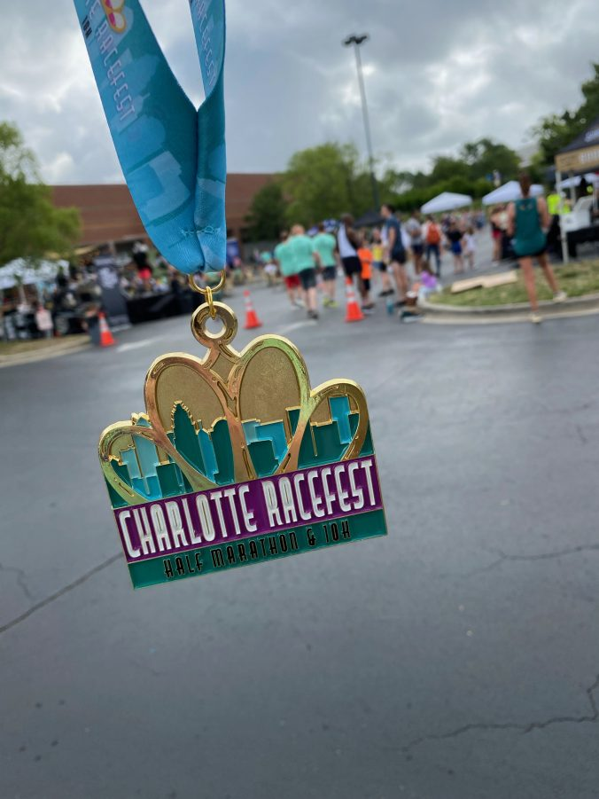 2021 Charlotte Racefest Medal
