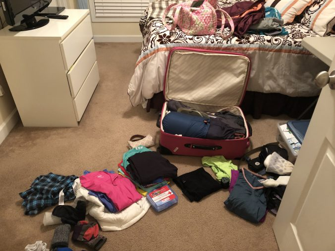 packing for Machu Picchu