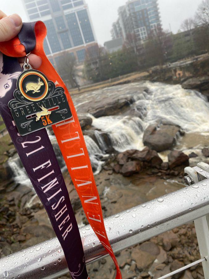rabbit medal at reedy falls
